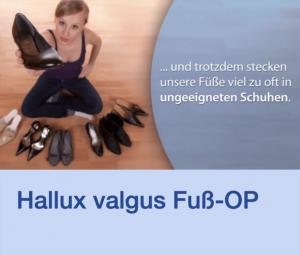 Video Hallux Valgus Fuß-OP Stuttgart